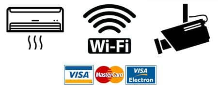 Card Visa Mastercard Wireless Internet